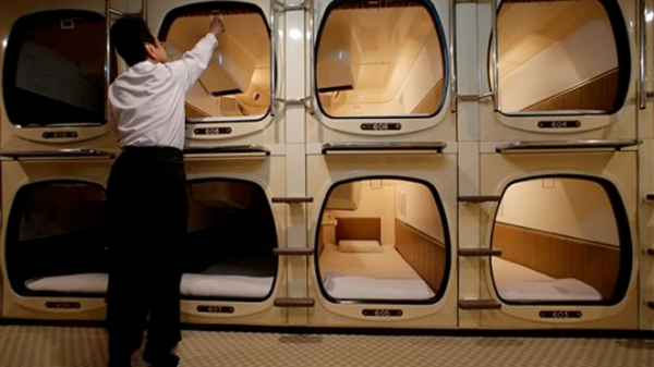 Capsule Sized Hotel Rooms!!!???
